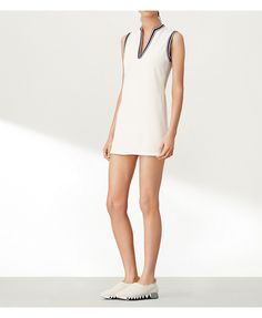 Snow White Tory Sport Sleeveless Tunic Dress