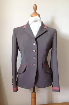 Dressage Jacket. I imagine the details more in a lilac or lavender. Love this company!