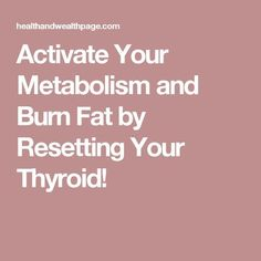 Hypothyroidism Revolution - Activate Your Metabolism and Burn Fat by Resetting Your Thyroid! Thyrotropin levels and risk of fatal coronary heart disease: the HUNT study. #Exerciseandyourthyroid #Dietandyourthyroid