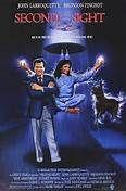 Second Sight (1989). [PG] 83 mins. Starring: John Larroquette, Bronson Pinchot, Bess Armstrong, Stuart Pankin and John Schuck