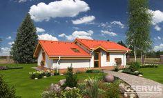 Rodinný dům Bungalow 14 - typový projekt G SERVIS