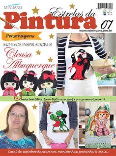 Artesanato - Pintura : ESTRELAS DA PINTURA 007 - Editora Minuano