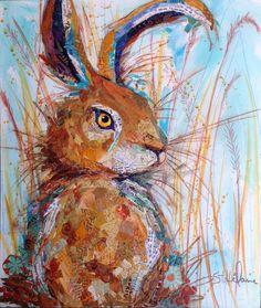 Original Art Up for Grabs -- Hoppy Hare