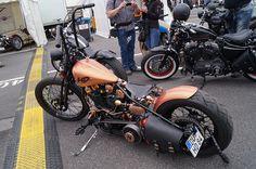 Custom Bike at HarleyDays in Hamburg Germany in 2013