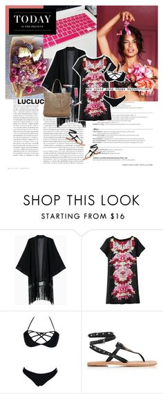 """""""today is the present."""" by inkcoherent ❤ liked on Polyvore featuring Levi's, Christian Dior, Ash and Banana Republic"""
