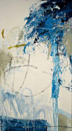 "Saatchi Art Artist Evita Voudouri; Painting, ""Dive into the void"" #art"
