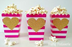 Popcorn Boxes Pink a
