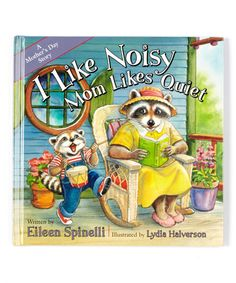 Another great find on #zulily! I Like Noisy Mom Likes Quiet Hardcover #zulilyfinds