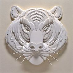 Master Pieces Of 3D Paper Sculptures | Design Inspiration. Free Resources & Tutorials - Jeff Nishinaka