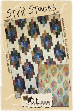 Strip Stacks Quilt Pattern by G. E. Designs | Patterns & Books