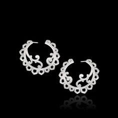White gold Diamond Earrings G38LK800 - Piaget Luxury Jewelry Online