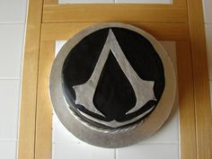Assassins Creed Cake I Would Want This But In White With The Symbol  cakepins.com
