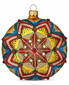 Waterford Christmas Ornament, Holiday Heirloom Reflections Ball