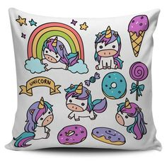 Cutie Unicorn Pillow Covers - Well Pick