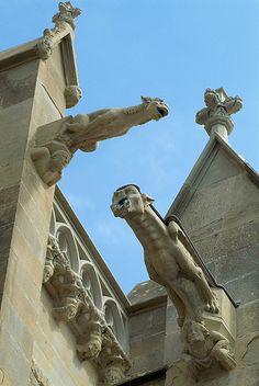 Gárgolas en Carcassonne