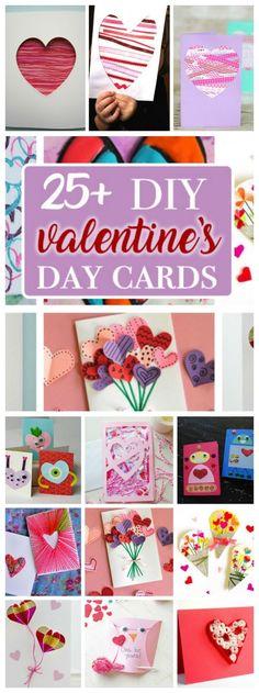Valentine's Day Cards: create a heartfelt homemade Valentine's Day card!