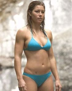 Blue Bikini, Sexy Bikini, Bikini Girls, Jessica Biel Bikini, Jessica Alba, Beautiful Celebrities, Beautiful Actresses, Jesica Biel, Bikini Swimwear