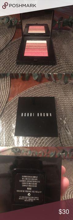 Bobbi Brown shimmer This is a beautiful Bobbi Brown shimmer brick compact bobb Makeup Face Powder