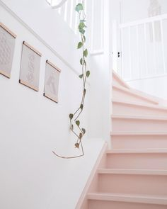 Inventive Staircase Design Tips for the Home – Voyage Afield Painted Staircases, Painted Stairs, Grand Staircase, Staircase Design, Stair Design, Stairs Colours, Le Logis, House Stairs, Entryway Stairs