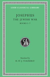 Josephus, The Jewish War, Volume III: Books 5-7  His major works are: History of the Jewish War, in seven books, from 170 BCE to his own time, first written in Aramaic but translated by himself into the Greek we now have; and Jewish Antiquities, in twenty books, from the creation of the world to 66 CE. The Loeb Classical Library edition of the works of Josephus also includes the autobiographical Life and his treatise Against Apion. LCL 210: