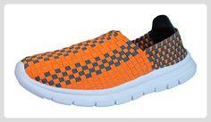 Air Tech Pessoa Turnschuhe der Frauen-Orange-37 - Sneakers für frauen (*Partner-Link)