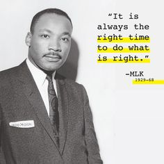 Happy Martin Luther King, Jr. Day! Powerful quote from an incredible man.