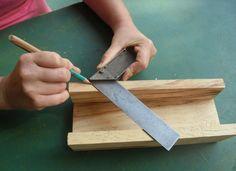 Cómo hacer marcos de madera con enguiletadora casera