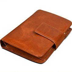 YALUXE Women's Small Genuine Leather Bi-Fold Wallet Card ...