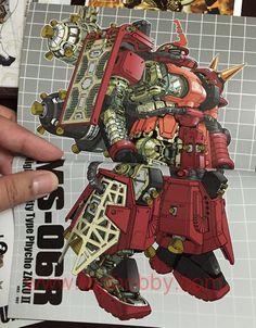 "Zaku High Mobility Type (Reuse ""P"" Device) - Gundam Wiki Transformers, Gundam Wallpapers, Gundam Mobile Suit, Gundam Seed, Gundam Art, Gunpla Custom, Robot Art, Gundam Model, Sci Fi Art"
