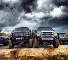 i love me some jacked up trucks...and maybe the country boy behind the wheel