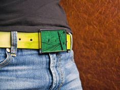 """I SO AM DOING THIS!!!!     """"Brilliant"""" Buckles  Make your own belt buckles with your favorite picture and resin...you need buckle blanks"""