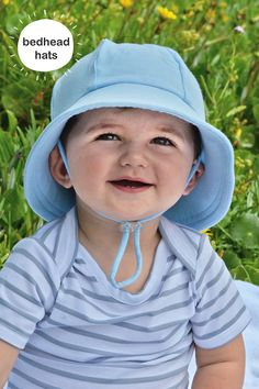 13e9644e19c Bedhead s baby bucket hat in Baby Blue. Our baby bucket sun hat is rated UPF