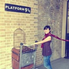 Platform 9-3/4 kings cross