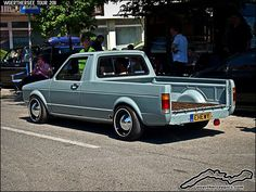 Cool Volkswagen 2017: VW Golf Mk1 Caddy Pickup by retromotoring, via Flickr... Car24 - World Bayers Check more at http://car24.top/2017/2017/07/22/volkswagen-2017-vw-golf-mk1-caddy-pickup-by-retromotoring-via-flickr-car24-world-bayers-2/