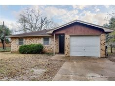 3103 Bonham Drive,  Bryan, TX 77803   If you are looking for a great home under 100k this is it. Large living area and private bath in the master suite this home is perfect for families wanting to own their own home. Large yard on a quiet street right across the road from the elementary school.