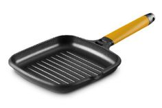 Fundix by Castey Nonstick Cast Aluminium Induction Grill Pan with Removable Orange Handle, 8-1/2-Inch - http://cookware.everythingreviews.net/8795/fundix-by-castey-nonstick-cast-aluminium-induction-grill-pan-with-removable-orange-handle-8-12-inch.html