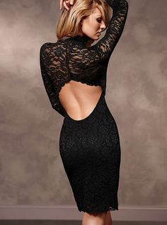 Love the back to the dress