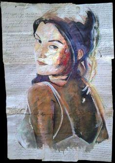 """Saatchi Art dell'artista Carlo Capone;  Pittura, """"bella"""" #art"""