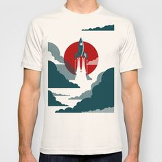 The Voyage T-shirt by Danny Haas - $18.00 (society 6)