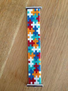 Tentacles bracelet bead loom pattern wristband pattern wrist cuff pattern for miyuki delica seed beads Loom Bracelet Patterns, Seed Bead Patterns, Bead Loom Bracelets, Woven Bracelets, Beaded Jewelry Patterns, Beading Patterns, Beaded Beads, Bead Loom Designs, Motifs Perler