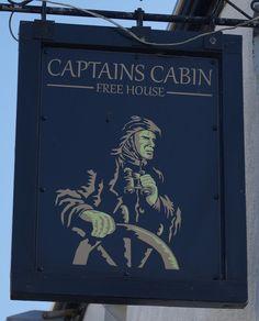 Pub Sign Art a la cARTe: The Captains Cabin - Weston super Mare, Somerset