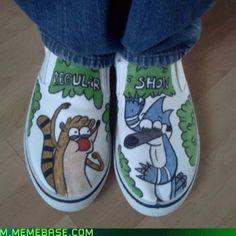 Regular Show Shoes