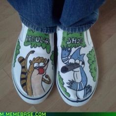 Regular Show Shoes