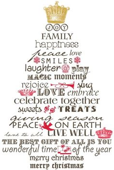 My christmas wish for you for my family and friends far near joy family happiness peace love smiles live well happy home wonderful time of the year merry christmas m4hsunfo