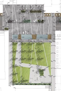 #landarch #urbandesign Újbuda City Centre by Garten Studio « Landezine | Landscape Architecture Works
