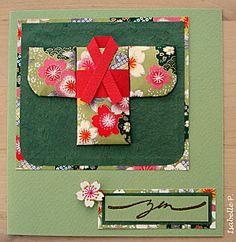 "Tuto ""washi paper quilting"" - Les Cartes d'Isabelle"