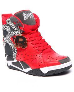 Reebok - Blacktop Wedge Co-op Sneakers Crazy Shoes, Me Too Shoes, Wedge Sneakers, Sneakers Nike, Pumps, Heels, Dance Outfits, Best Sellers, Reebok