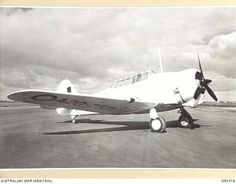 (DATE TAKEN AND LOCATION UNKNOWN). ROYAL AUSTRALIAN AIR FORCE WIRRAWAY TRAINER MANUFACTURED IN AUSTRALIA BY THE COMMONWEALTH AIRCRAFT CORPORATION PTY LTD. FROM 1939-07 TO 1946-07 755 WIRRAWAYS WERE PRODUCED BY THE CAC.