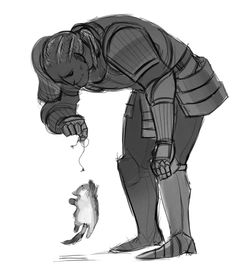 [insert high-pitched, incoherent noises here] Sten playing with a kitten!!!!!