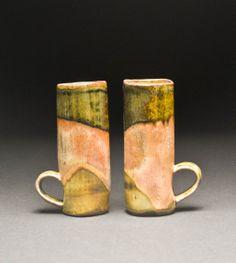 J Shiloh Gastello | Temmoku and Rutile Stain Mugs